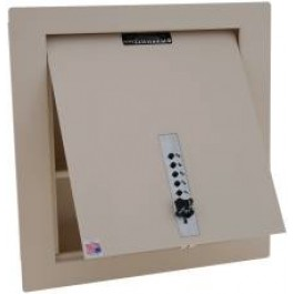 WS-200-8 Perma Vault Wall Safe with Mechanical Pushbutton Lock