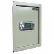 Amsec WEST2114 Wall Safe with Electronic Lock, LCD Screen and Key Override