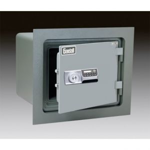 Gardall WMS912-G-E Insulated Wall Safe with U.L. One Hour Fire Rating and Electronic Lock