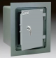 Gardall WMS129-G-K Insulated Wall Safe with Flange and U.L. One Hour Fire Rated and Key Lock